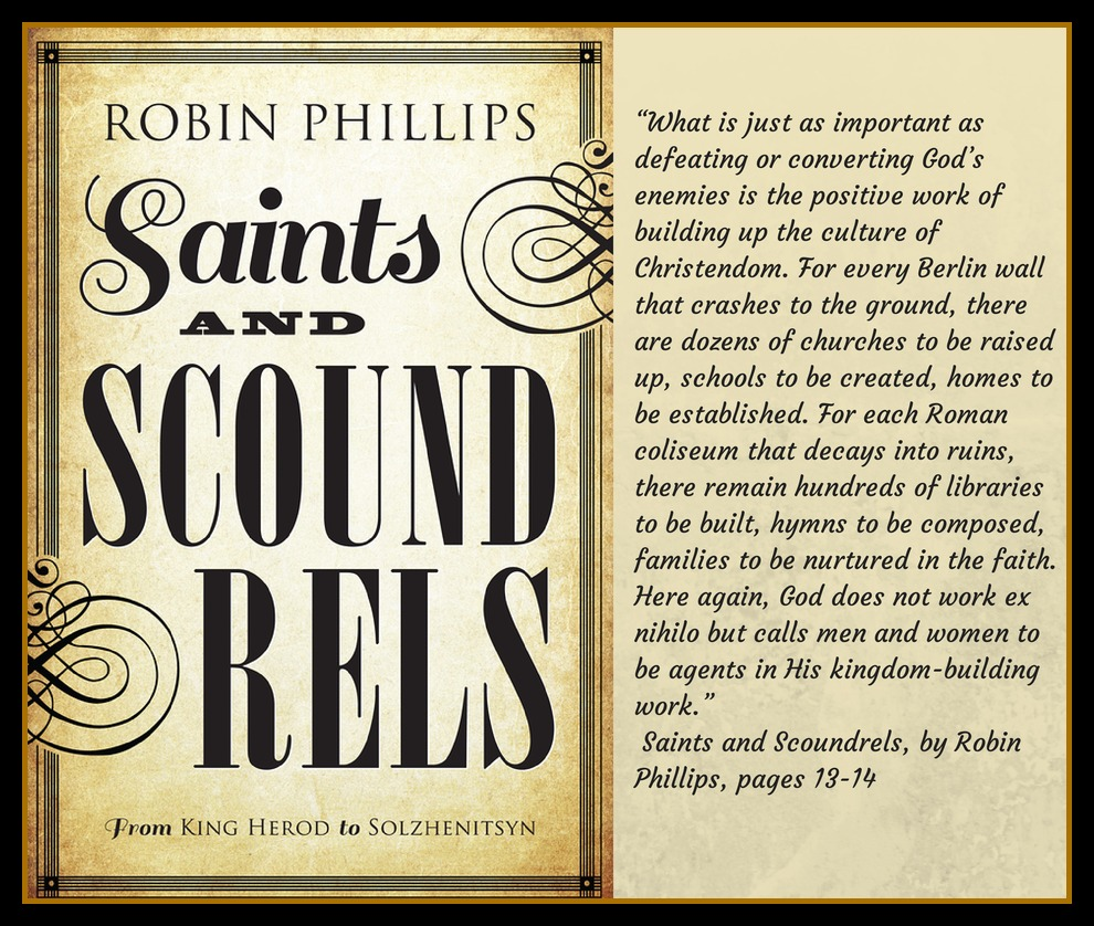Saint's and Scoundrels a