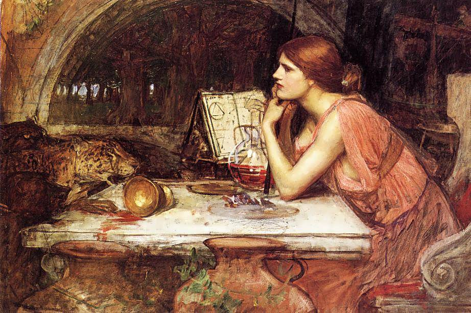 Waterhouse's Painting of Circe