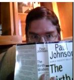 Paul Johnson makes reading history feel like reading gossip.