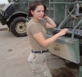 American female fighter